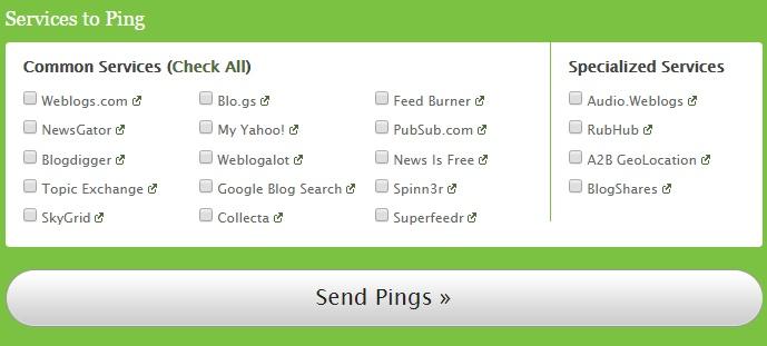 Пинг-сервисы